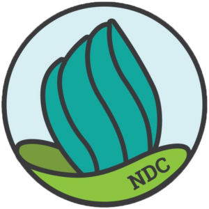 National Deaf Center logo.